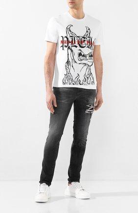 Мужские джинсы RH45 темно-серого цвета, арт. HP06 | Фото 2
