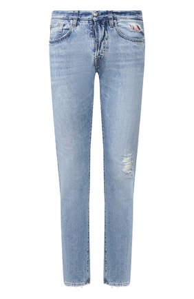 Мужские джинсы 2 MEN JEANS голубого цвета, арт. GIULIAN0/YNG4G | Фото 1