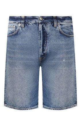 Мужские джинсовые шорты 2 MEN JEANS синего цвета, арт. RICHI/YNG2Z | Фото 1