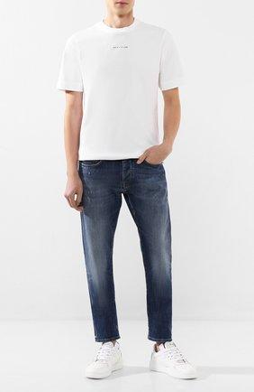 Мужские джинсы 2 MEN JEANS темно-синего цвета, арт. MARC0/YHP3G | Фото 2