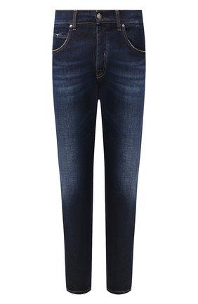 Мужские джинсы 2 MEN JEANS темно-синего цвета, арт. FARRAN/Y433L | Фото 1