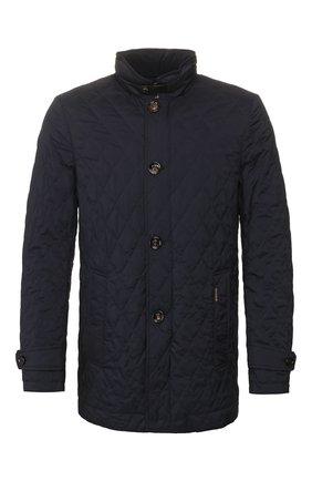 Мужская утепленная куртка dionisio-s31 MOORER темно-синего цвета, арт. DI0NISI0-S31/P20M020REFL | Фото 1
