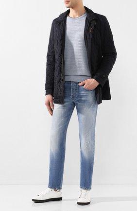 Мужская утепленная куртка dionisio-s31 MOORER темно-синего цвета, арт. DI0NISI0-S31/P20M020REFL | Фото 2