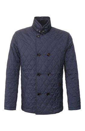 Мужская утепленная куртка andrea-s32 MOORER синего цвета, арт. ANDREA-S32/P20M540REFL | Фото 1