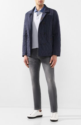 Мужская утепленная куртка andrea-s32 MOORER синего цвета, арт. ANDREA-S32/P20M540REFL | Фото 2