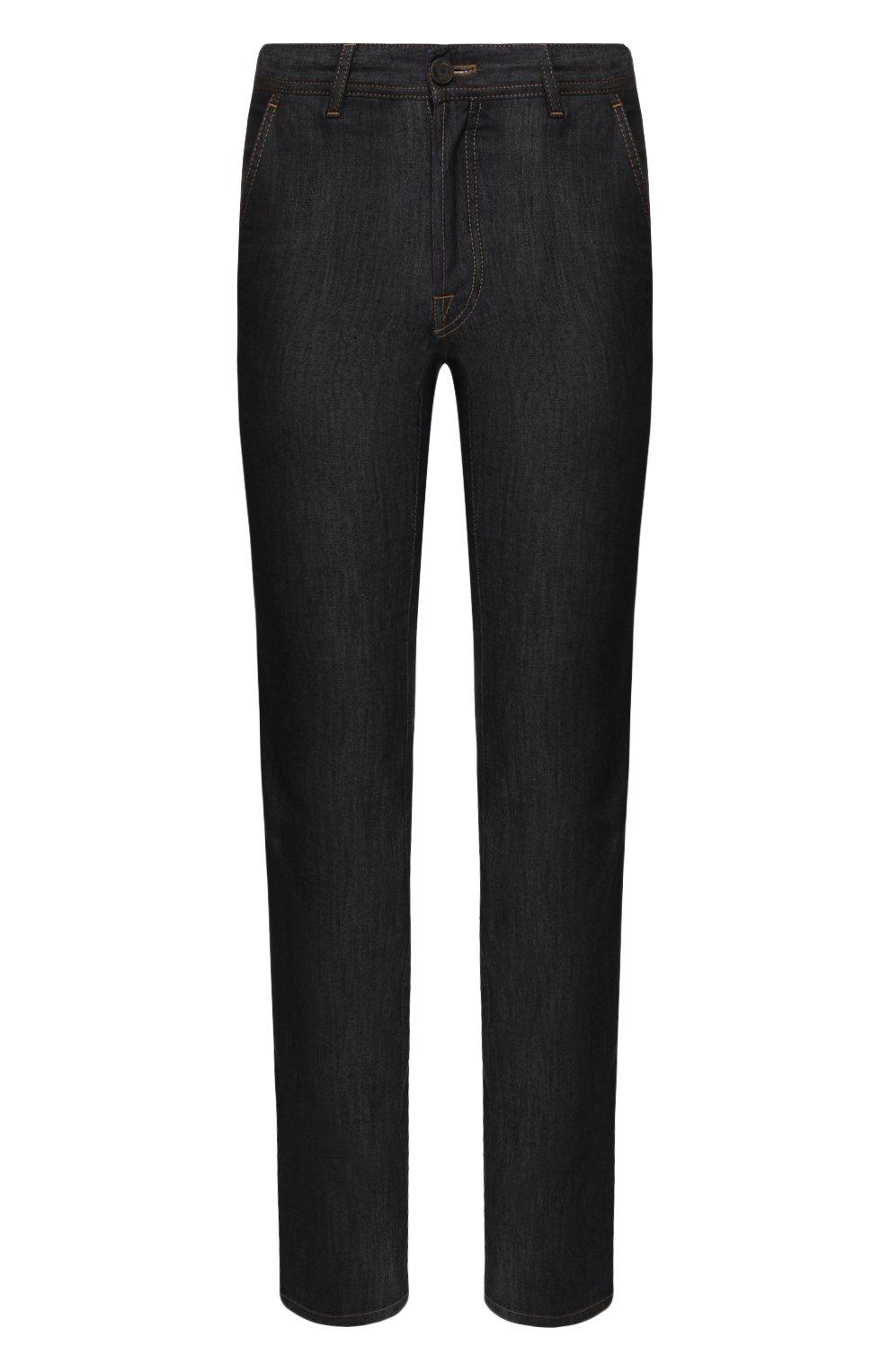 Мужские джинсы BRIONI темно-серого цвета, арт. SPL50M/P9D17/SUNSET   Фото 1