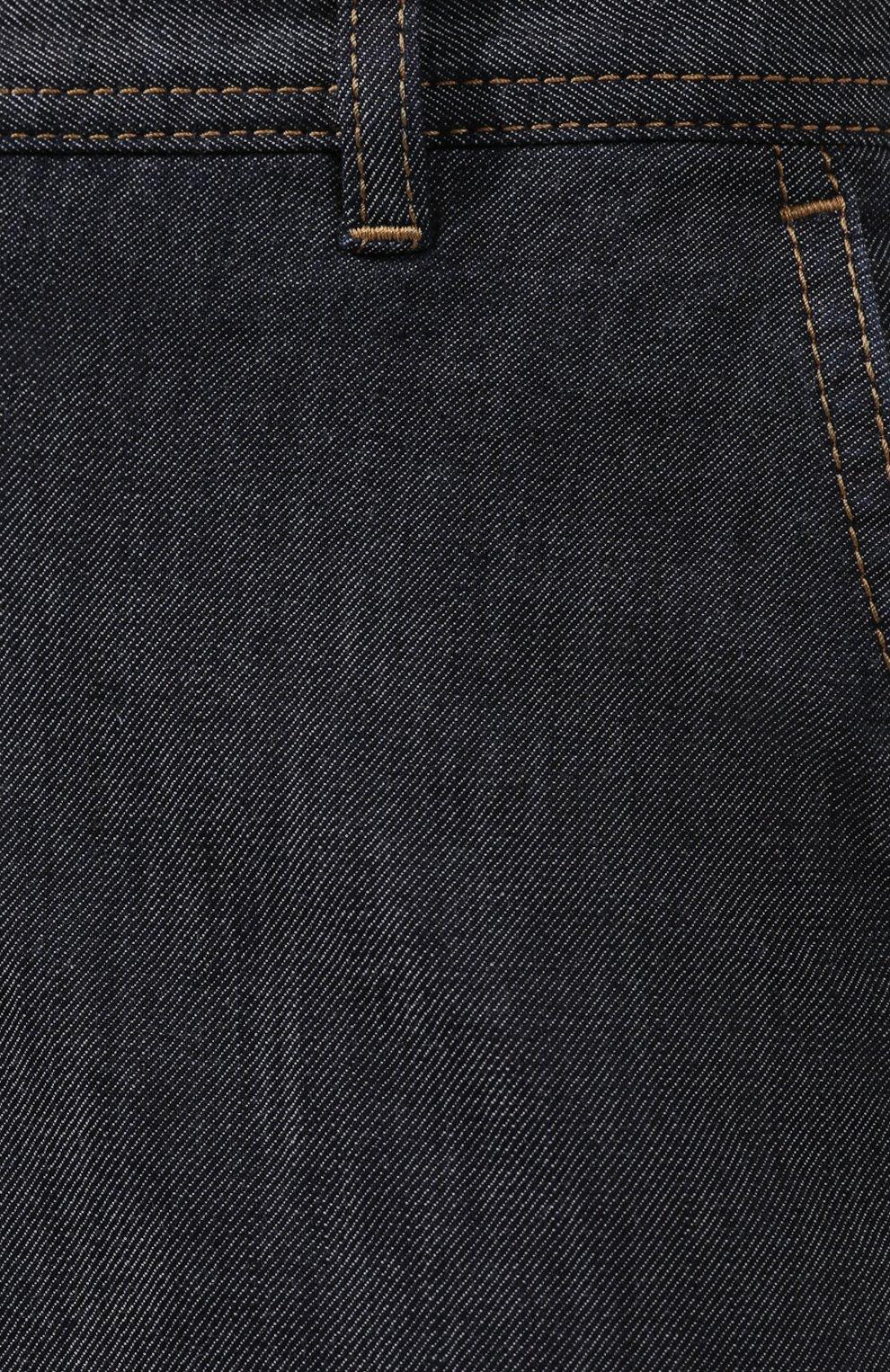 Мужские джинсы BRIONI темно-серого цвета, арт. SPL50M/P9D17/SUNSET   Фото 5