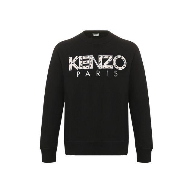 Хлопковый свитшот Kenzo — Хлопковый свитшот