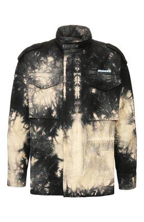 Мужская хлопковая куртка OFF-WHITE разноцветного цвета, арт. 0MEL010S20H860536100   Фото 1