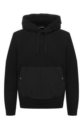 Мужской хлопковое худи STONE ISLAND SHADOW PROJECT черного цвета, арт. 721960208 | Фото 1
