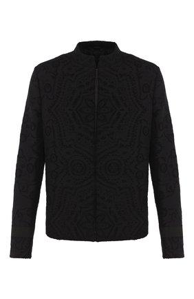 Мужской пиджак TRIPLE RRR черного цвета, арт. SS20 J010 2007 | Фото 1