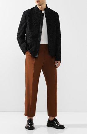Мужской пиджак TRIPLE RRR черного цвета, арт. SS20 J010 2007 | Фото 2