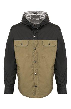 Мужская куртка MONCLER хаки цвета, арт. F1-091-1B714-70-539TM | Фото 1