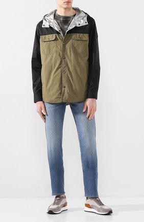 Мужская куртка MONCLER хаки цвета, арт. F1-091-1B714-70-539TM | Фото 2