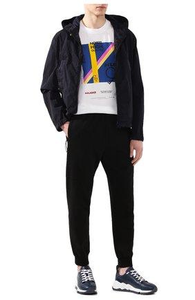 Мужская куртка scie MONCLER темно-синего цвета, арт. F1-091-1A700-60-53705   Фото 2