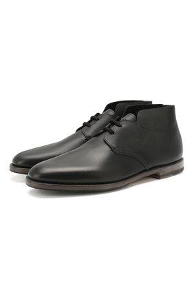 Мужские кожаные ботинки O`KEEFFE черного цвета, арт. 0K1534/M0NTPARNASSE | Фото 1