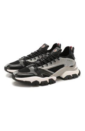 Мужские комбинированные кроссовки trevor MONCLER серого цвета, арт. F1-09A-4M716-00-02S8A | Фото 1