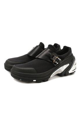 Мужские комбинированные кроссовки 1017 ALYX 9SM черного цвета, арт. AAUSN0008YA01 | Фото 1