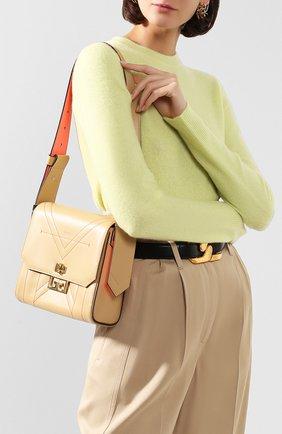 Женская сумка eden medium GIVENCHY бежевого цвета, арт. BB50C8B0TV | Фото 2