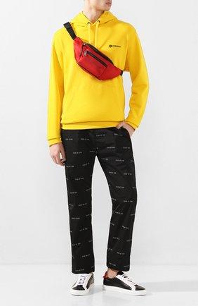 Мужская текстильная поясная сумка GIVENCHY красного цвета, арт. BK5037K0WA | Фото 2