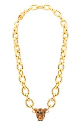 Женское колье DOLCE & GABBANA золотого цвета, арт. WNM4A1/W1111 | Фото 1