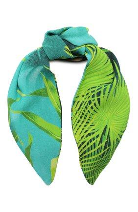 Женский ободок для волос VERSACE зеленого цвета, арт. ICER001/A234694   Фото 1