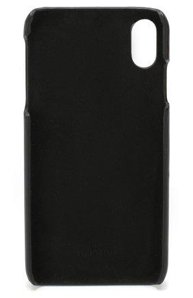 Мужской кожаный чехол valentino garavani для iphone xs max VALENTINO черного цвета, арт. TW2P0S88/DRT | Фото 2