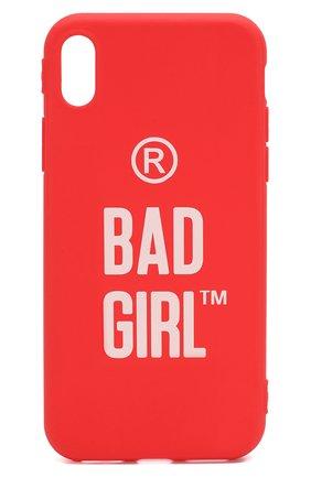 Мужской чехол для iphone xs max MISHRABOO красного цвета, арт. Bad girl Xs Max | Фото 1