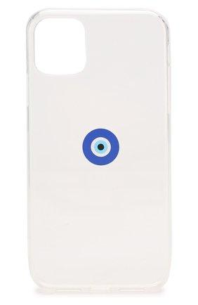 Мужской чехол для iphone 11 MISHRABOO прозрачного цвета, арт. Eye 11 | Фото 1