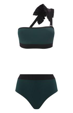 Женский раздельный купальник SHAN зеленого цвета, арт. 32030-26-32030-36 | Фото 1