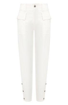 Женские хлопковые брюки DOLCE & GABBANA белого цвета, арт. FTBRRT/FCFAE | Фото 1