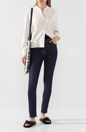 Женские джинсы KENZO темно-синего цвета, арт. FA52PA2706EG   Фото 2