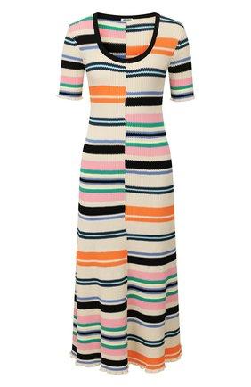 Женское платье-миди KENZO разноцветного цвета, арт. FA52R0516807 | Фото 1