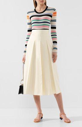 Женская пуловер KENZO разноцветного цвета, арт. FA52PU516807 | Фото 2
