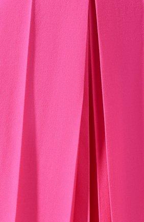 Женские шерстяные кюлоты AMI фуксия цвета, арт. E20FT401.237 | Фото 5