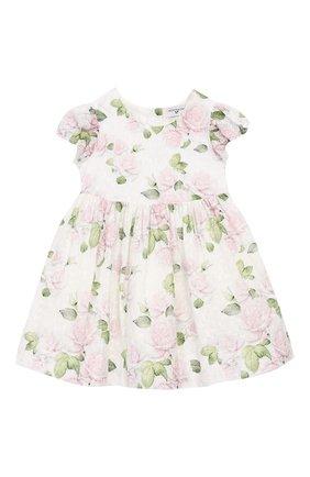 Женский платье MONNALISA розового цвета, арт. 315910 | Фото 1