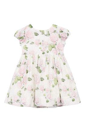 Женский платье MONNALISA розового цвета, арт. 315910 | Фото 2