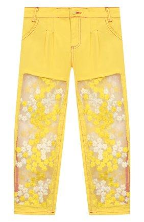 Детские джинсы YUDASHKIN KIDS желтого цвета, арт. 420-KTGE-341008.V2   Фото 1