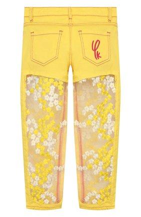 Детские джинсы YUDASHKIN KIDS желтого цвета, арт. 420-KTGE-341008.V2   Фото 2