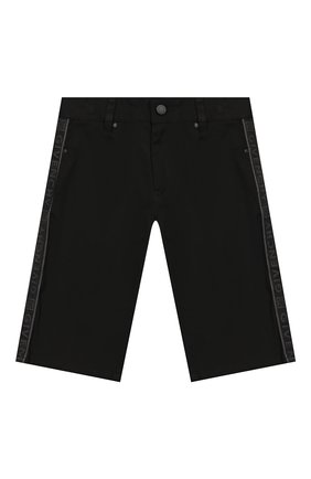 Детские шорты GIVENCHY черного цвета, арт. H24084   Фото 1