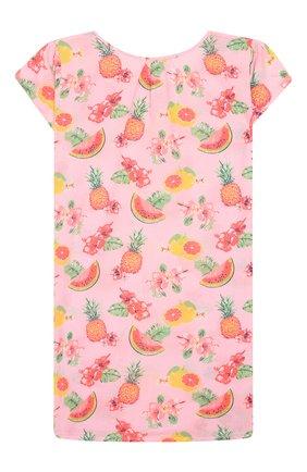 Детская хлопковая туника SUNUVA розового цвета, арт. S2234/7-14   Фото 2