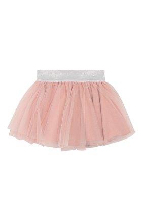 Детская хлопковая юбка ALETTA розового цвета, арт. RW00263/1M-2A | Фото 1