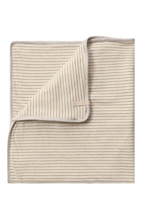 Детского хлопковое одеяло ALETTA серого цвета, арт. RZ00431 | Фото 1