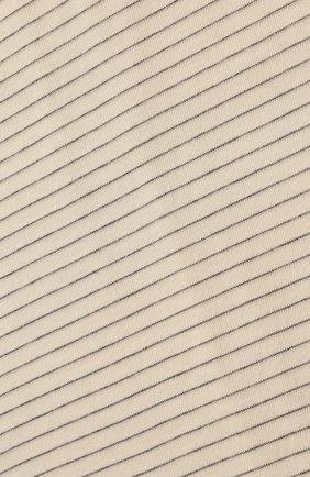 Детского хлопковое одеяло ALETTA серого цвета, арт. RZ00431 | Фото 2