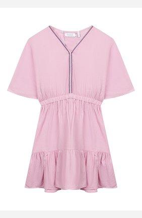 Детское платье INDEE светло-розового цвета, арт. GIR0LA/BLUSH/12A-18A | Фото 1