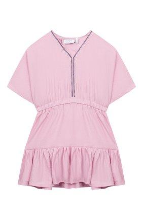 Детское платье INDEE светло-розового цвета, арт. GIR0LA/BLUSH/8A-10A | Фото 1