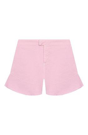 Детские хлопковые шорты INDEE светло-розового цвета, арт. GISELE/BLUSH/12A-18A | Фото 1