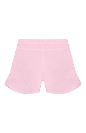 Детские хлопковые шорты INDEE светло-розового цвета, арт. GISELE/BLUSH/12A-18A | Фото 2
