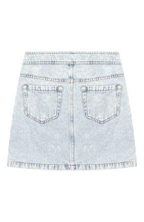 Детская джинсовая юбка INDEE голубого цвета, арт. GL0RIA/DENIM/8A-10A | Фото 2