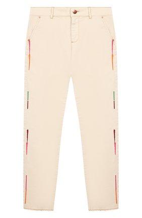 Детские джинсы INDEE бежевого цвета, арт. GLADYS/ICE/12A-18A | Фото 1